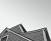 Building Exterior Roof Angles, Low Angle View