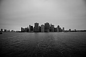 Skyline and Harbor, Lower Manhattan, New York City, USA
