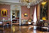The Great Salon, Chateau De Maintenon, Eure-Et-Loir (28), France