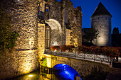 Tower And Fortifications Of The Medieval City Of Bonneval, Nicknamed The Little Venice Of The Beauce, Eure-Et-Loir (28), France
