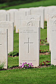 Commonwealth Cemetery For British Soldiers Killed During The First World War, Aisne (02), France