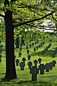 German Cemetery For German Soldiers Killed During The First World War, Vermandovilliers, Somme (80), France
