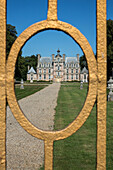 Entrance Gate To The Chateau Of Beaumesnil, Eure (27), France