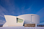 University Of Alaska At Fairbanks Museum Of The North During Winter, Interior Alaska