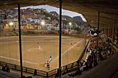 'Mexico, Guanajuato, Baseball Match In Suburbs Area; Guanajuato'