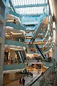'China, Interior Of Multi-Level Shopping Mall; Beijing'