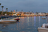 'Cyprus, Harbor At Dusk, Paphos'