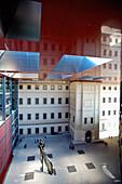 Jean Nouvel designed extension of Reina Sofia art gallery, Madrid, Spain