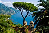 Ravello, Rufolo View, Amalfi Coast, Campania, Italy