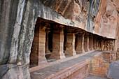 Cave temples, Badami, Karnataka, India