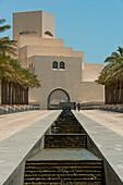 Exterior of Museum of Islamic Art, Doha, Qatar