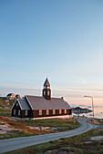 Zion Church built in 1782, Ilulissat (Jakobshavn), Greenland