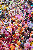 Lathmar Holi Celebrations, Barsana, Uttar Pradesh, India