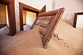 Lars, Froelich, nobody, Indoors, Day, Sunlight, Sand, Bizarre, Loneliness, Solitude, Time, Kolmanskop, Namibia, Abandoned, House, Door, Sand Dune, Doorway, Trapped, Stuck, Ruined, Ghost Town, Nobody, Inside, Interior, Interiors, Lone, Lonely, Namibian, Re