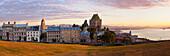 Panoramic View Of Quebec At Sunrise, Old Quebec, Quebec.