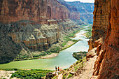 Arizona, Grand Canyon National Park, Rafting on the Colorado River.