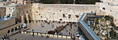 View of Wailing Wall, Israel, Jerusalem