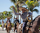 Mexican rodeo and parade, Puerto Vallarta, Mexico