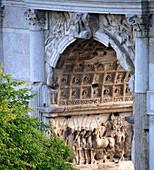 Arch of Constantine in the Roman Forum, Forum Romanum, Rome, Italy