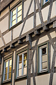 Timber frame building, Ansbach, Franconia, Bavaria, Germany