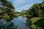Canal near the Gal Oya National Park in the Ampara District, East Sri Lanka, South Asia