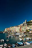 Harbour, Portovenere, Province of La Spezia, Liguria, Italia