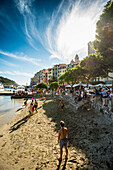 Beach of Portovenere, Province of La Spezia, Liguria, Italia