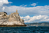 Church of St. Peter, Portovenere, Province of La Spezia, Liguria, Italia