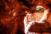 Rock tomb, Petra, Wadi Musa, Jordan, Middle East