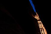 View through The Siq to Al Khazneh, Petra, Jordan, Middle East