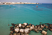 Otranto, Adriatic Sea, Lecce Province, Apulia, Peninsula Salento, Italy, Europe