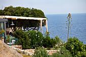 Restaurant in Santa Cesarea Terme, Lecce Province, Apulia, Peninsula Salento, Italy, Europe