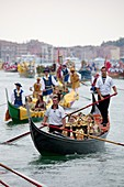 Regata Storica di Venezia, the most important traditional event in Venice, Italy, Europe