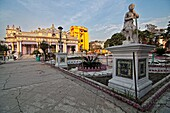 Jain temple. Calcutta, Kolkata, West Bengal, India