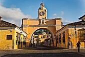 santa catalina arc in antigua. guatemala