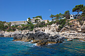 Akrotiri Beach Hotel, Paleokastritsa Bay, Corfu island, Ionian islands, Greece