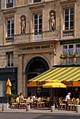 Galerie Véro-Dodat und Cafe, Paris, Frankreich, Europa