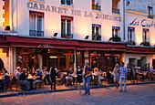 Cabaret de la Boheme, Montmartre, Paris, Frankreich, Europa
