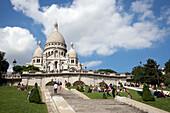 Sacre Coeur, Paris, Frankreich, Europa