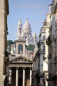 View to Sacre Coeur, Paris, France, Europe