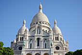 Basilica of the Sacré Cœur at Montmartre, Paris, France, Europe