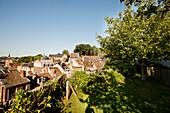 Terrasses des Minimes (terraced gardens), Liege, Wallonia, Belgium