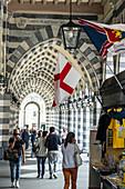 Galleria Mazzini, Genoa, Liguria, Italia