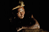 Man of the Zulu tribe, KwaZulu-Natal, South Africa, Africa
