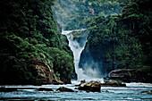 Murchison Falls in Murchison Falls National Park, Uganda, Africa