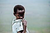 Young girl, Uganda, Africa