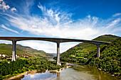 Bridge over the Duoro River, Northen Portugal, Portugal