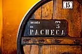 Wine cellars Quinta da Pacheca, Lamego, Duoro region, Northern Portugal, Portugal