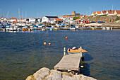 View to Marstrand, Istoen Island, Province of Bohuslaen, West coast, Sweden, Europe