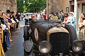 Bentley, 4,5 Liter Supercharged Blower, Mille Miglia, 1000 Miglia, Sansepolco, Arezzo, Tuscany, Italy, Europe